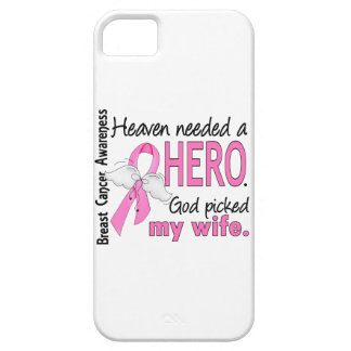 Heaven Needed A Hero Wife Breast Cancer iPhone SE/5/5s Case