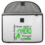 Heaven Needed a Hero Wife Lymphoma Sleeve For MacBook Pro