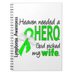 Heaven Needed a Hero Wife Lymphoma Notebook