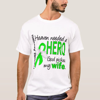 Heaven Needed a Hero Wife Lymphoma T-Shirt