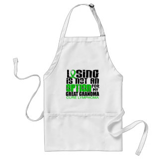 Heaven Needed Hero Dad Lymphoma Adult Apron