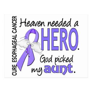 Heaven Needed Hero Esophageal Cancer Aunt Postcard