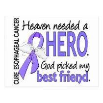 Heaven Needed Hero Esophageal Cancer Best Friend Postcard