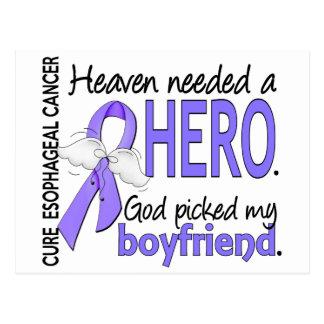 Heaven Needed Hero Esophageal Cancer Boyfriend Postcard
