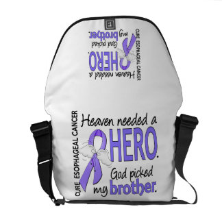 Heaven Needed Hero Esophageal Cancer Brother Messenger Bag