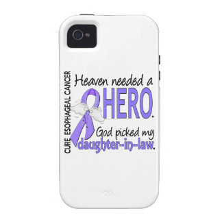 Heaven Needed Hero Esophageal Cancer Daughter-In-L Case-Mate iPhone 4 Cases