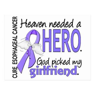 Heaven Needed Hero Esophageal Cancer Girlfriend Postcard