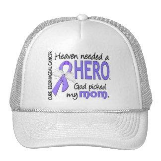 Heaven Needed Hero Esophageal Cancer Mom Trucker Hat