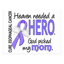 Heaven Needed Hero Esophageal Cancer Mom Postcard
