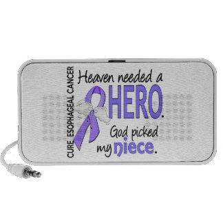 Heaven Needed Hero Esophageal Cancer Niece Mp3 Speakers