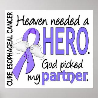 Heaven Needed Hero Esophageal Cancer Partner Poster