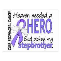 Heaven Needed Hero Esophageal Cancer Stepbrother Postcard