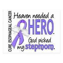 Heaven Needed Hero Esophageal Cancer Stepmom Postcard