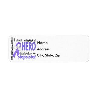Heaven Needed Hero Esophageal Cancer Stepsister Label