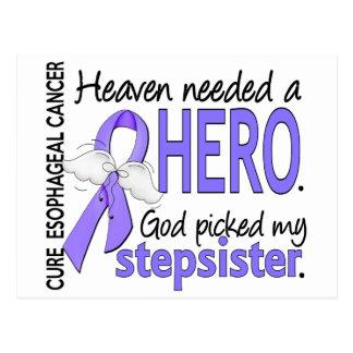 Heaven Needed Hero Esophageal Cancer Stepsister Postcard