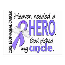 Heaven Needed Hero Esophageal Cancer Uncle Postcard