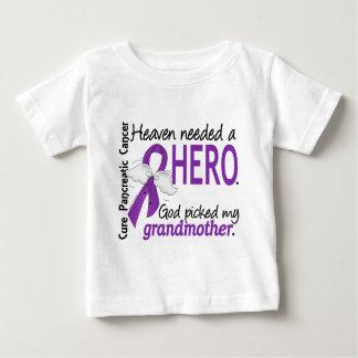 Heaven Needed Hero Grandmother Pancreatic Cancer Tee Shirt
