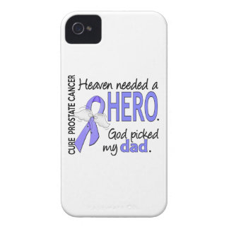 Heaven Needed Hero Prostate Cancer Dad iPhone 4 Cover