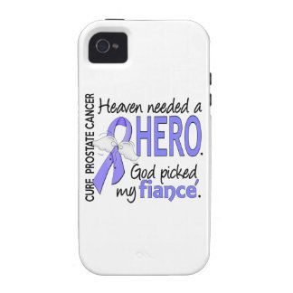 Heaven Needed Hero Prostate Cancer Fiance iPhone 4/4S Cases