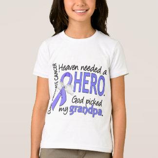 Heaven Needed Hero Prostate Cancer Grandpa T-Shirt