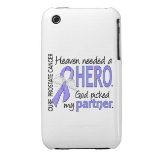 Heaven Needed Hero Prostate Cancer Partner iPhone 3 Cover