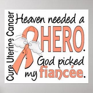 Heaven Needed Hero Uterine Cancer Fiancee Poster