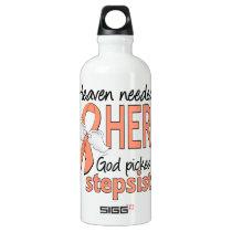 Heaven Needed Hero Uterine Cancer Stepsister Water Bottle