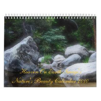 Heaven On Earth Image's Nature's Beauty Calendar
