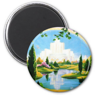 Heaven on Earth Refrigerator Magnets
