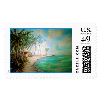 Heaven On Earth Postage Stamp
