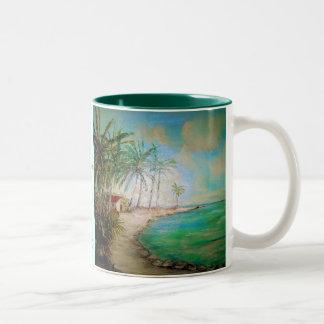 Heaven On Earth Two-Tone Coffee Mug