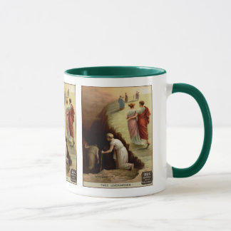 Heaven or Hell Vintage Advertisement Mug
