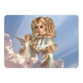 heaven-sent-1 5x7 paper invitation card