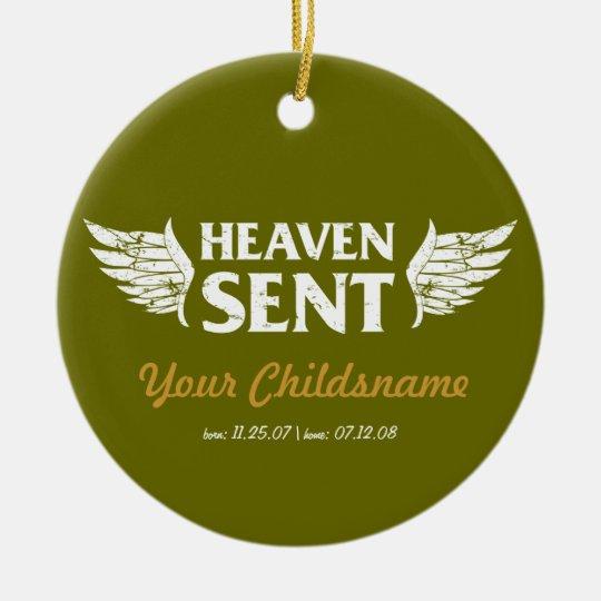 Heaven Sent Adoption Ornament