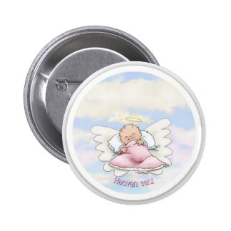 Heaven Sent - Angel Baby Girl Pins