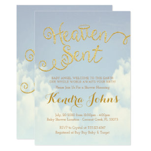 Heaven Sent Baby Shower Gifts on Zazzle d2fd6aa326
