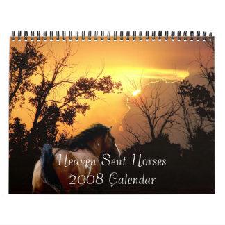 Heaven Sent Horses 2008 Calendar