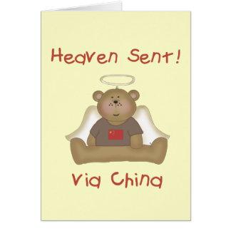 Heaven Sent via China Card
