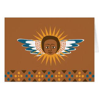Heaven Sent via Ethiopia - Announcement Cards