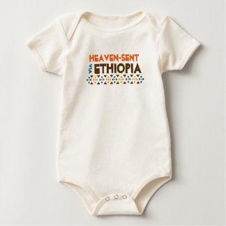 Heaven - Sent Via Ethiopia Baby Bodysuit