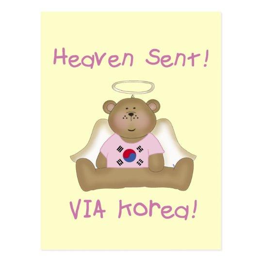 Heaven Sent via Korea Postcard