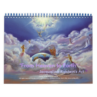 Heaven to Earth an Inspiring every day- Customized Calendar