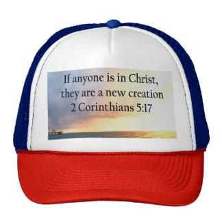 HEAVENLY 2 CORINTHIANS 5:17 OCEAN PHOTO DESIGN TRUCKER HAT