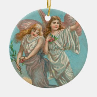 Heavenly Angel Art Collectible Holiday Ornament