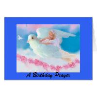 Heavenly Angel Birthday Card