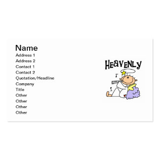 Heavenly Angel T-shirts and Gifts Business Card