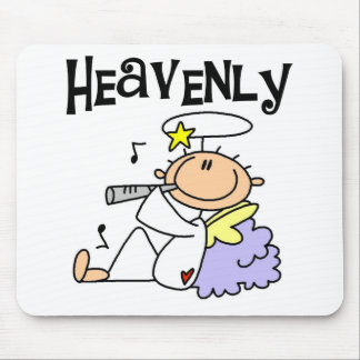 Heavenly Angel T-shirts and Gifts Mouse Pad