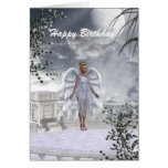 Heavenly Angel Unicorn Scene Card