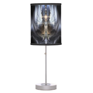 Heavenly Angel Wing Cross Table Lamp
