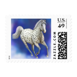 Heavenly Appaloosa Horse Postage